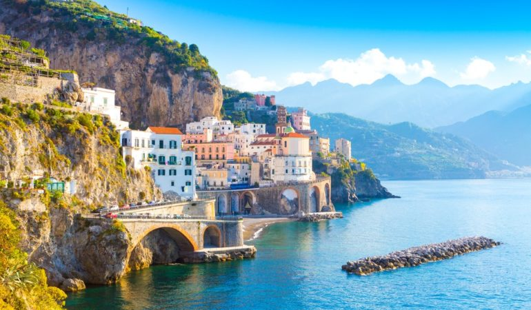 How to Get from Rome to Naples to the Amalfi Coast