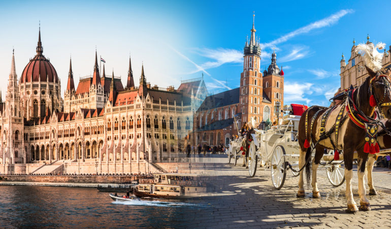 How to get from Krakow to Budapest