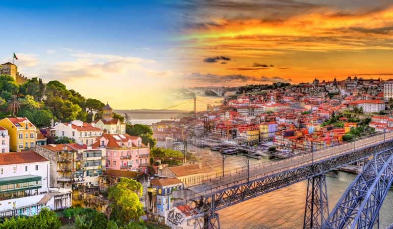 How to get from Porto to Lisbon