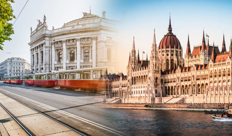 How to get from Vienna to Budapest