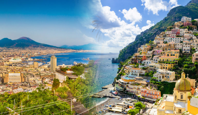 How to get from Positano to Naples