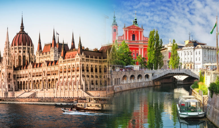 How to get from Ljubljana to Budapest