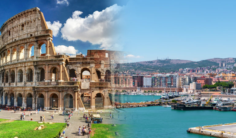How to get from Civitavecchia to Rome