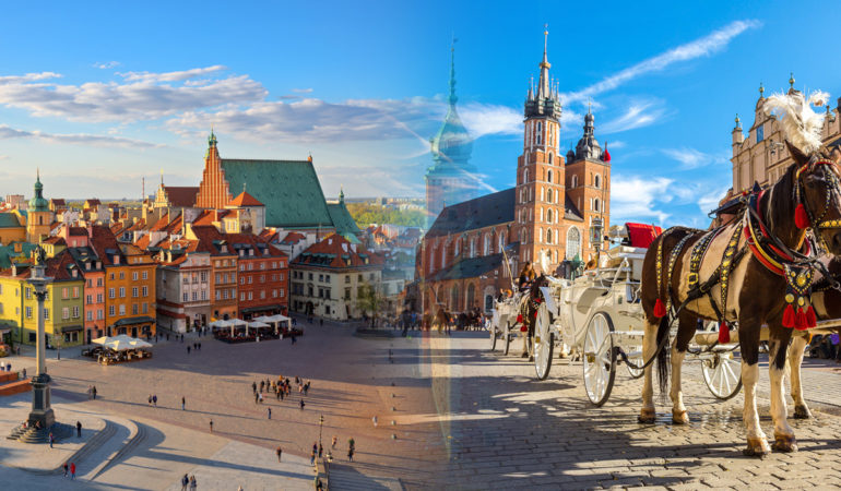 How to get from Warsaw to Krakow