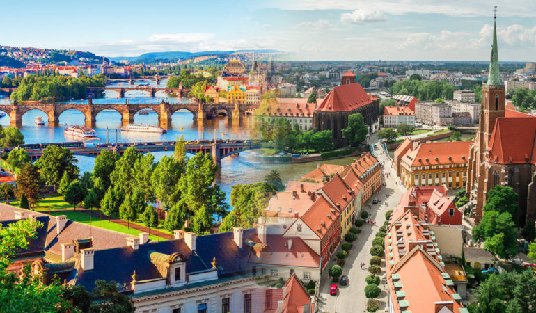 How to get from Wroclaw to Prague