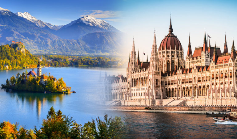 How to get from Lake Bled to Budapest
