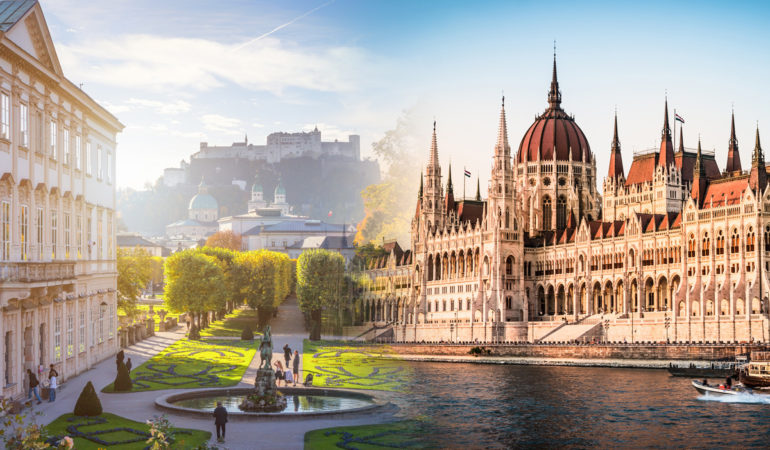 How to get from Salzburg to Budapest