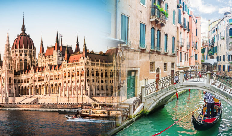How to get from Venice to Budapest
