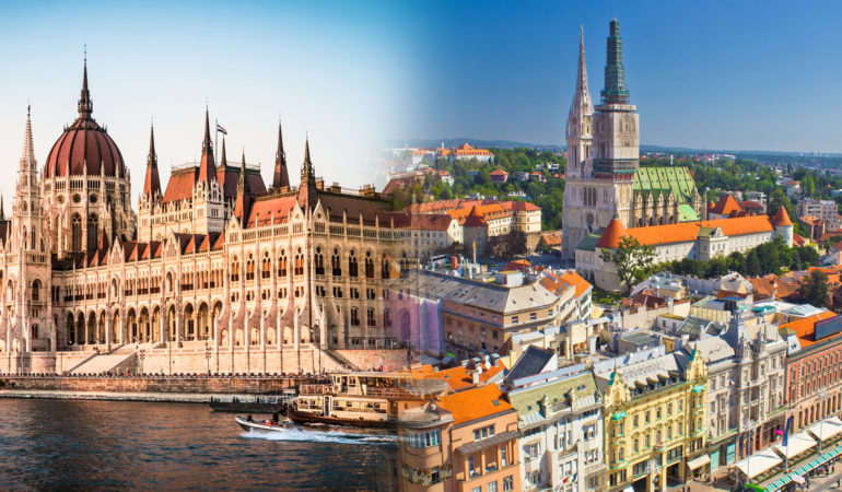 How to get from Zagreb to Budapest