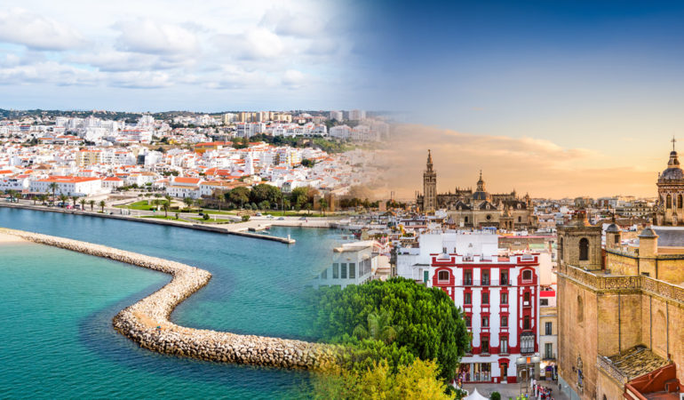 How to get from Seville to Lagos