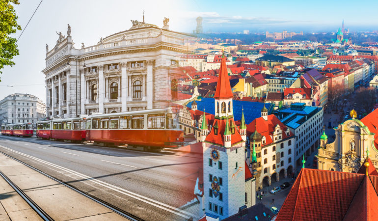 How to get from Vienna to Munich