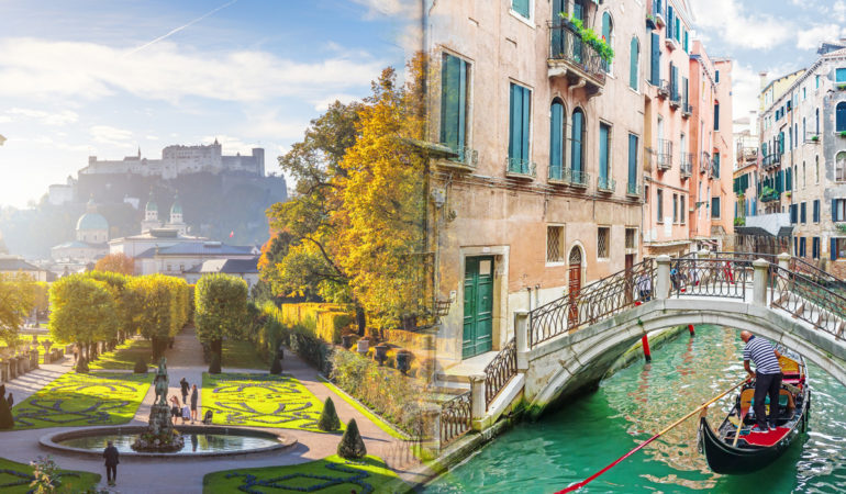 How to get from Venice to Salzburg